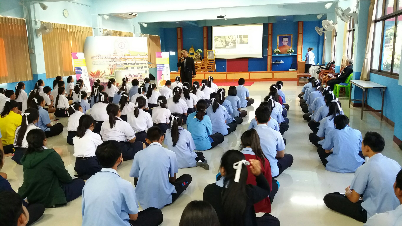 Photo of มจร ออกแนะแนวโรงเรียนหนองแคสรกิจพิทยา หนองแค สระบุรี