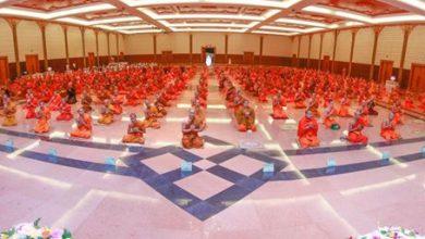 Photo of พิธีเปิดโครงการปฏิบัติธรรมเฉลิมพระเกียรติฯ ปีการศึกษา 2560
