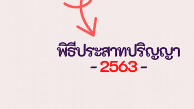 Photo of กำหนดการ พิธีประสาทปริญญา 2563